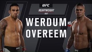 UFC 2 - Фабрисиу Вердум против Алистара Оверима