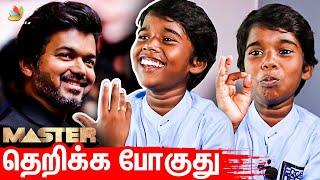 தளபதி கேட்ட கடி Joke: Super Singer Poovaiyar Interview | Vijay Vijaysethupathi #Master #VaathiComing