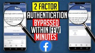 Facebook 2 Factor Authentication Problem Solved   How to Bypass Facebook 2 Step Authentication 2020