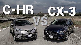 Mazda CX-3 VS Toyota C-HR - Frente a frente   Autocosmos