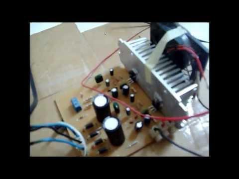 prueba de sonido amplificador tda2050
