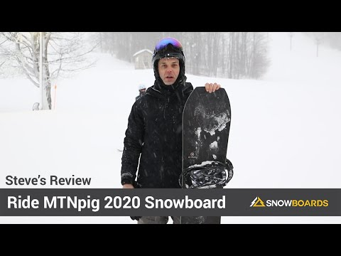 Video: Ride Mtnpig Snowboard 2020 19 50