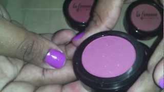 Makeup Mania-LaFemme Blush Haul/Review || CiciJoon