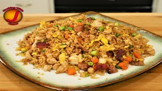 Blackstone griddle fried rice | how to make fired rice | Blackstone rice