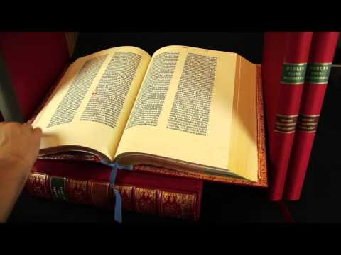Beautiful 1455 Gutenberg Bible Facsimile