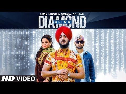 Diamond Bling: Simu Singh, Gurlej Akhtar (Full Song) Desi Crew | Raja Sharma | Latest Punjabi Song