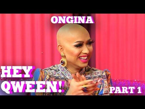 RuPaul's Drag Race Star ONGINA on HEY QWEEN with Jonny McGovern Part 1