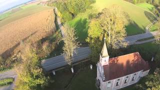 preview picture of video 'DJI Wallfahrtskirche St Wolfgang'