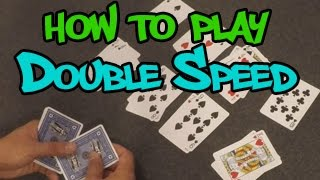 How to play Double Speed - Card Game
