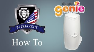 The Patriarchs - How to use the Diaper Genie
