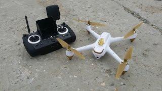 """FPV квадрокоптер HUBSAN H501S ... Следуй за мной, GPS, RTH, 4,3"""", OSD"""