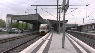 preview picture of video 'Filmen im Privatbahnparadies - Bahnverkehr in Bielefeld Hbf'