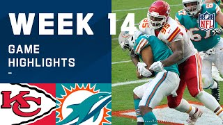 Chiefs vs. Dolphins Week 14 Highlights | NFL 2020