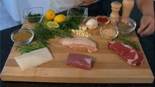 Rubs For Cooking Meat & Seafood : Meat Preparation Tips
