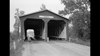 The  Roberts  Covered  Bridge,  Eaton,  Ohio