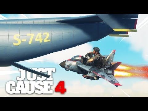 Just Cause 4 - NEW TOY JET STUNT MASTER!