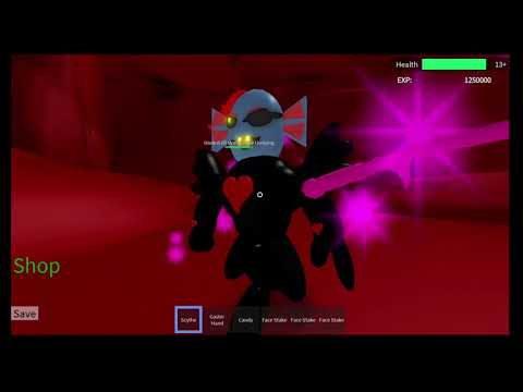 ROBLOX Undertale 3D Boss Battles: UF Undyne (Solo) - MCRBLXGAMER