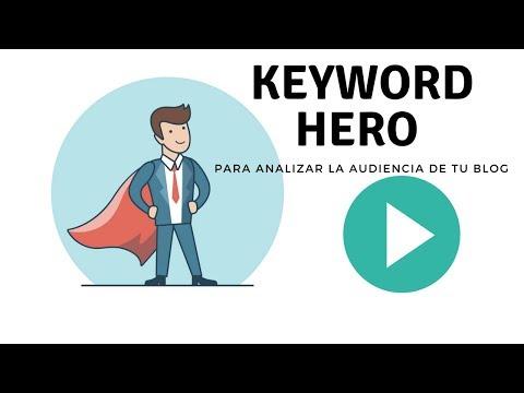 Analytics con Keyword Hero, audiencia del blog