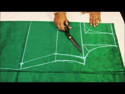 Kuti / Kameez cutting very easy method step by step (DIY)