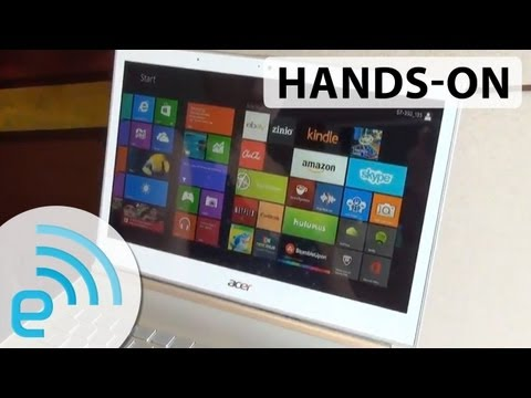 Acer Aspire S3-392 and Aspire S7-392 hands-on   Engadget at Computex 2013