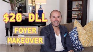 Summer Decorating Ideas 2019 / Easy Way To Change The Foyer On A Budget ( Under $20 Dlls )