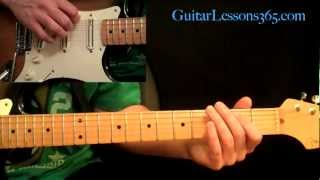 Dr. Feelgood Guitar Lesson Pt.1 - Motley Crue - Intro, Main Riff & Verse