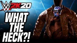 CRAZY RIBBIE GLITCH BREAKS WWE 2K20!!!