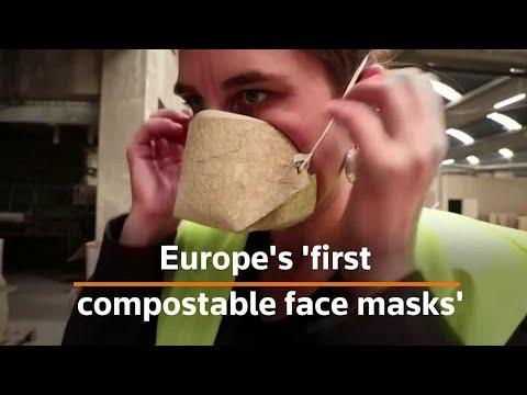Zaštitne maske napravljene od vlakna konoplje