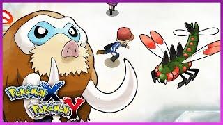 Pokemon X & Y   How To Get Mamoswine & Yanmega
