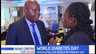 Kenyan joins the world in marking World Diabetes Day