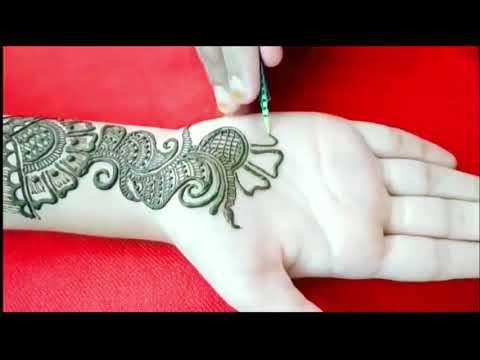 Simple Hand Mehndi designs/Mehndi For Shawan/mehndi designs 2019