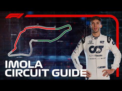 ピエール・ガスリーがイモラ・サーキットのコース解説する動画。F1 第13戦エミリア・ロマーニャGP