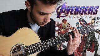 AVENGERS Main Theme | Endgame Tribute (Fingerstyle Guitar Cover)