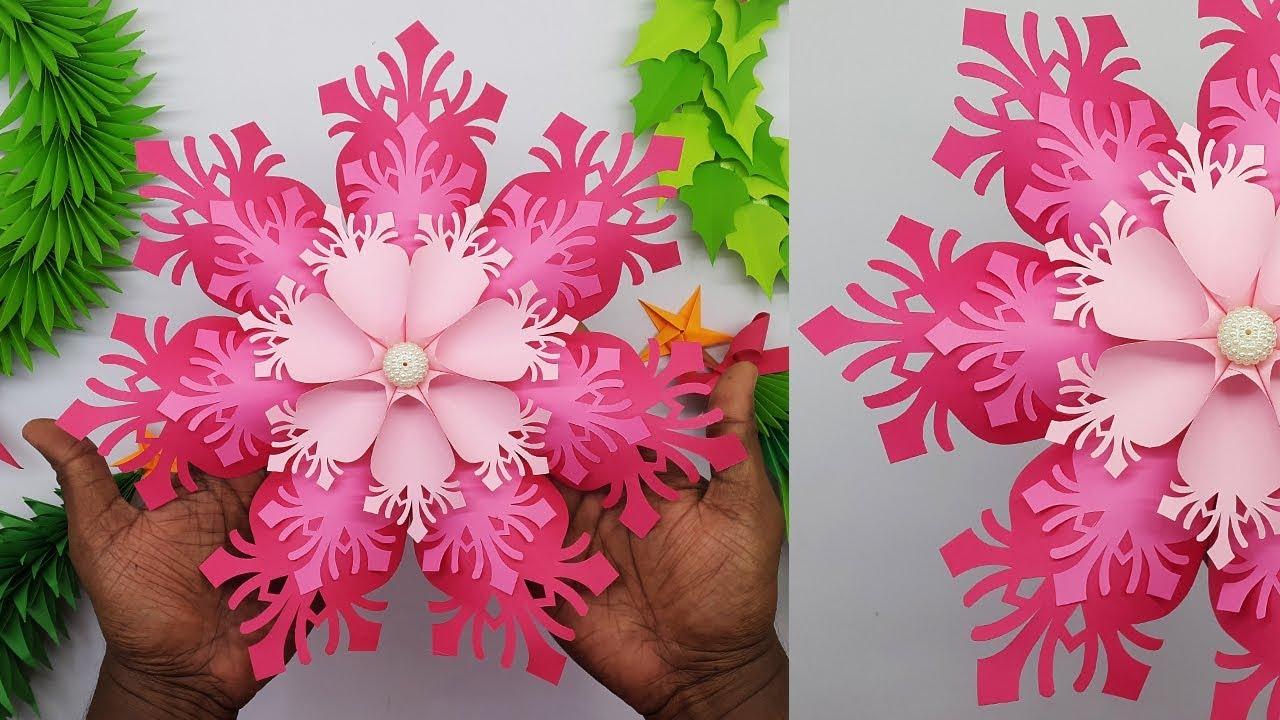 Создание 3D снежинки для рождественских украшений своими руками