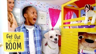 Puppy Lover Gets DREAM BEDROOM Makeover! | Get Out Of My Room | Universal Kids