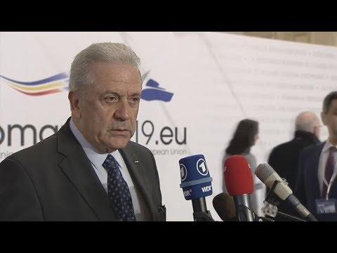 Δήλωση Επιτρόπου Δ. Αβραμόπουλου στο άτυπο Συμβούλιο Υπουργών Εσωτερικών και Δικαιοσύνης της ΕΕ
