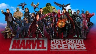 All The Marvel Cinematic Post-Credits Scenes Compilation (2008-2017)