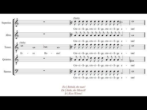 Bouzignac | Ecce Homo! [á 5; Les Arts Florissants]