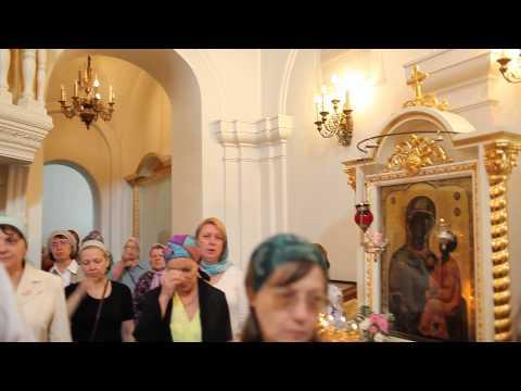 Отче наш.Поют прихожане храма Св.апп.Петра и Павла