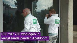 Woningnood? Gebruik leegstaande winkels, zegt D66