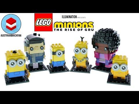 Vidéo LEGO BrickHeadz 40420 : Gru, Stuart et Otto (Minions)