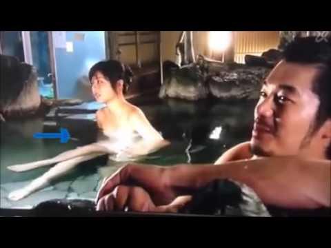 日本美女藝人石原聰美拍戲時拍到恐怖靈異畫面