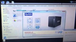 Instalarea si configurarea Zyxel NSA 325 v2