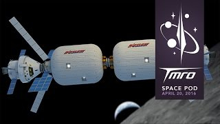 Cislunar-1000 and Bigelow Aerospace - Space Pod 04/20/16