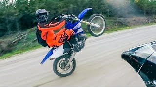 Stupid Crashes, Broken Teeth,  Awesome Trails! - YZ250X
