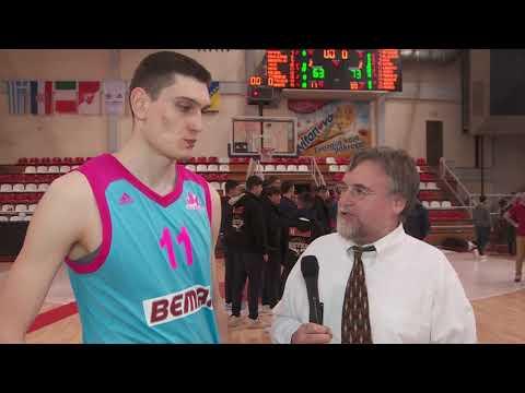 EB ANGT Belgrade Interview: MVP Aleksandar Langovic, U18 Mega Bemax Belgrade