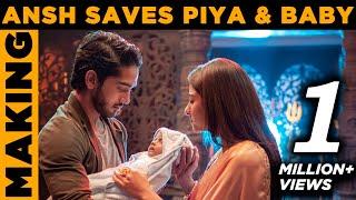 NAZAR | ANSH SAVES PIYA & BABY | MAKING | SCREEN JOURNAL | STAR PLUS