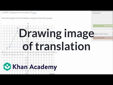 Translating shapes (video) | Translations | Khan Academy