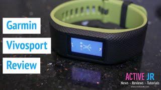 Garmin Vivosport review - Best Fitness tracker 2017 ?