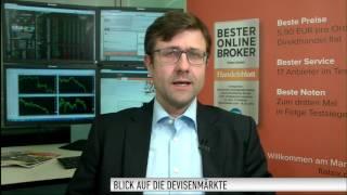 Devisenexperte Wiedemann: Euro - Rücksetzer bis rund 1,10 USD denkbar